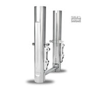 Chrome PM legs include a HIDDEN axle and are available with single or dual caliper mounts.