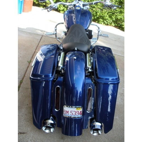Do Your Part To Help Put Native 6 Stretch Fender W Bezel Taillights And Bevel Saddlebags