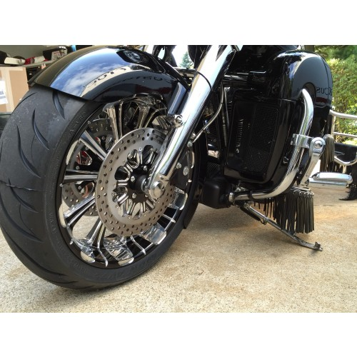 Flush Front Axle For Baggers