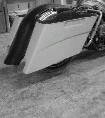 """S curved 2""""-4"""" saddlebag with curved body line"""