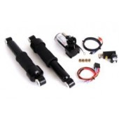 Complete rear air ride kit - black.