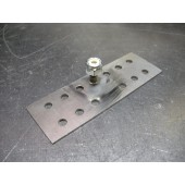 Why all the holes? It's so the epoxy can come though the plate and bond it to your panel better!