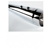 CFR - CHROME Touring Mufflers w SMOOTH tips