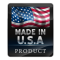 This product is made with pride in the U.S.A.! Do your part to help put Americans back to work and get this economy rolling strong again by buying American made goods whenever possible.